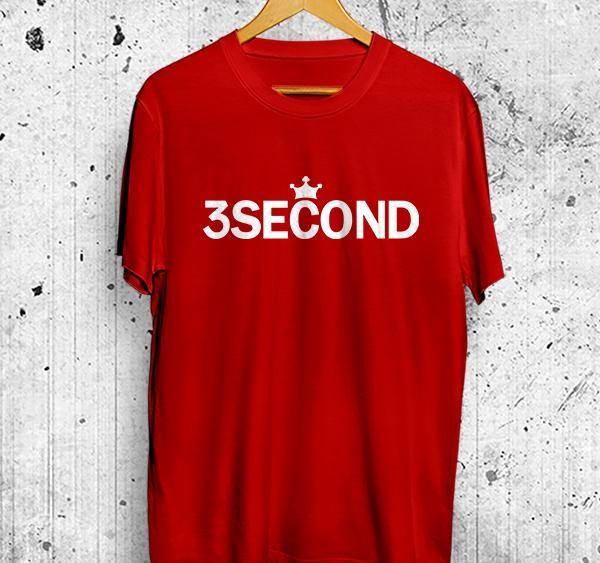 Kaos Distro 3Second 3Sco Baju Fashion Brand Clothing Tshirt Atasan Pria Wanita Kualitas Premium