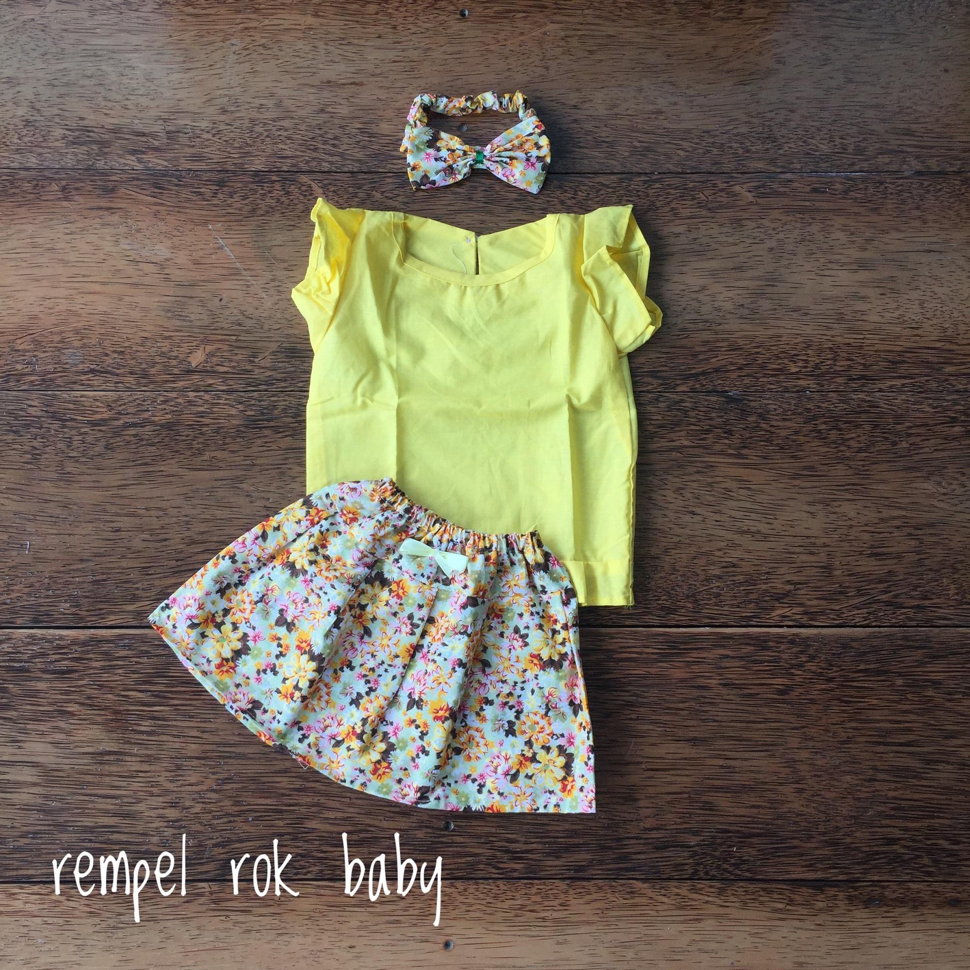 Set Pakaian Bayi Perempuan Terbaik Lazada Piyama Anak Baby 1 3thn Lovely Cow Baju Tidur Setelan Laki Rempel Rok