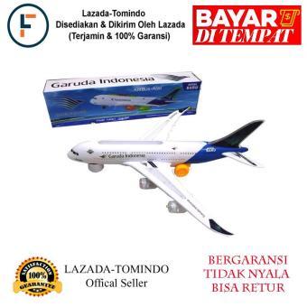Pencari Harga Tomindo Pesawat Garuda Indonesia (ukuran +/- 37 cm) / mainan