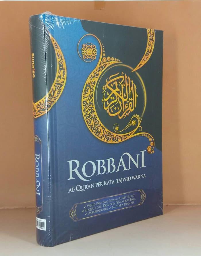 Ilmu Religi Umum41 Robbani AlQur39an Per Kata Tajwid Warna
