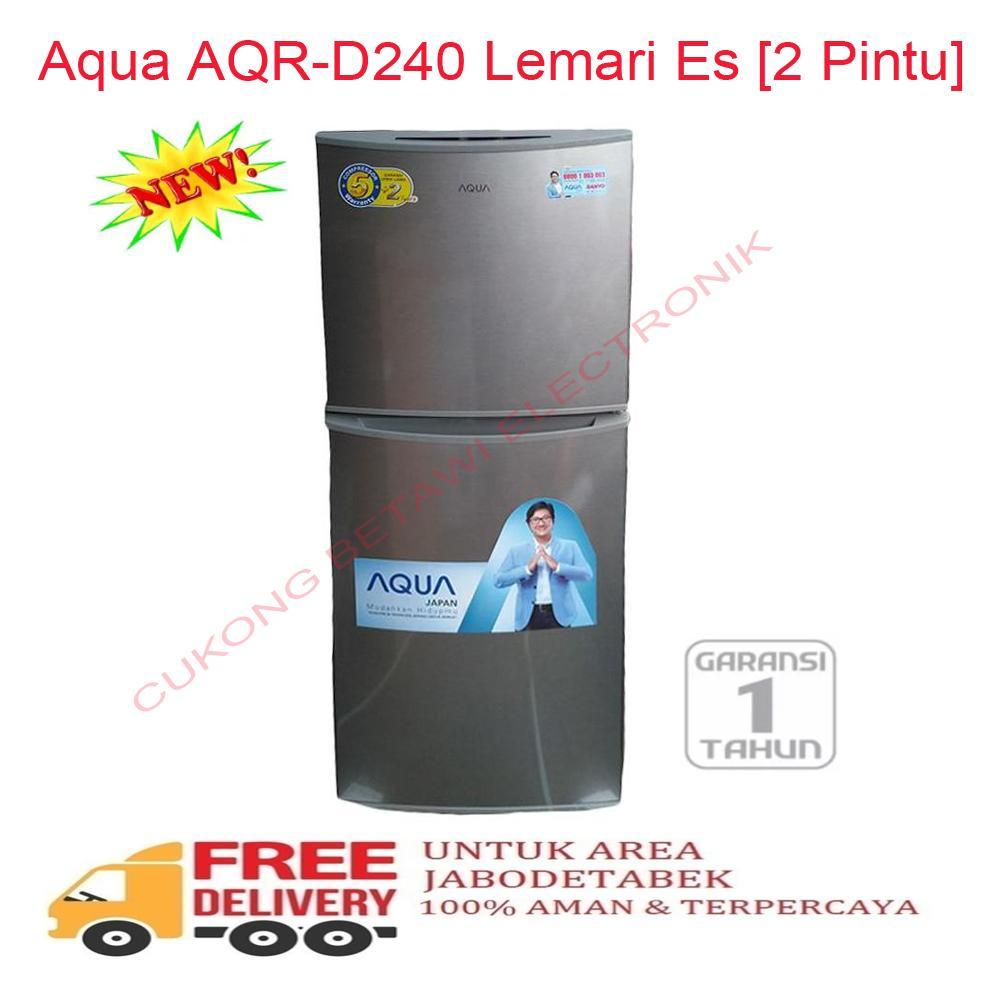 Aqua AQR-D240 Lemari Es [2 Pintu] - KHUSUS JABODETABEK