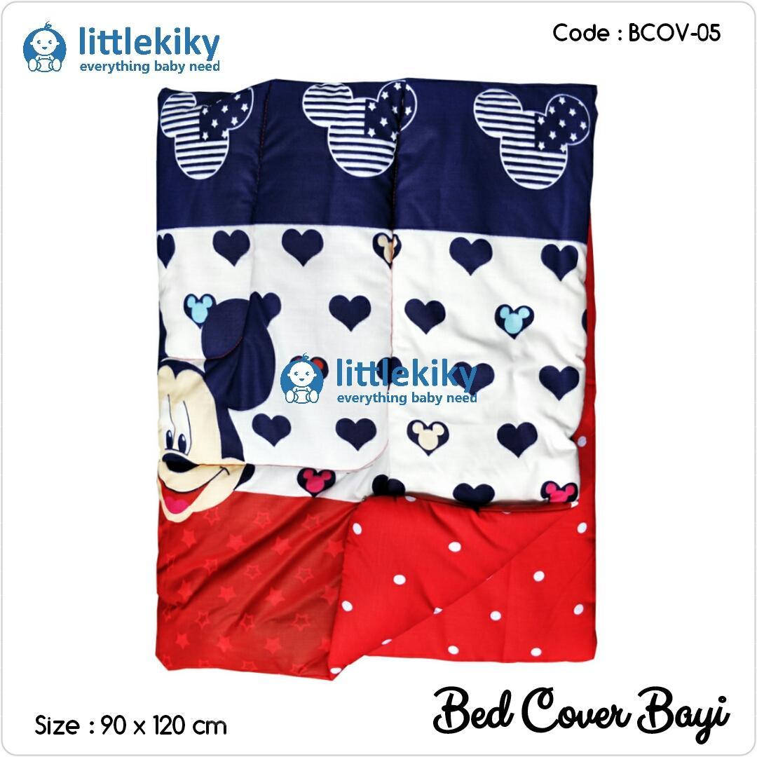 Littlekiky Bedcover Bayi / Selimut Bayi / Baby Bedsheet / Bantal Bayi / Bed Cover ( Sl-5 ) By Yep Foam.