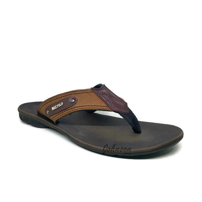 [ Johnson Shoes ] Sendal / Sandal Jepit Santai Pria MAX POLO - SKS 02