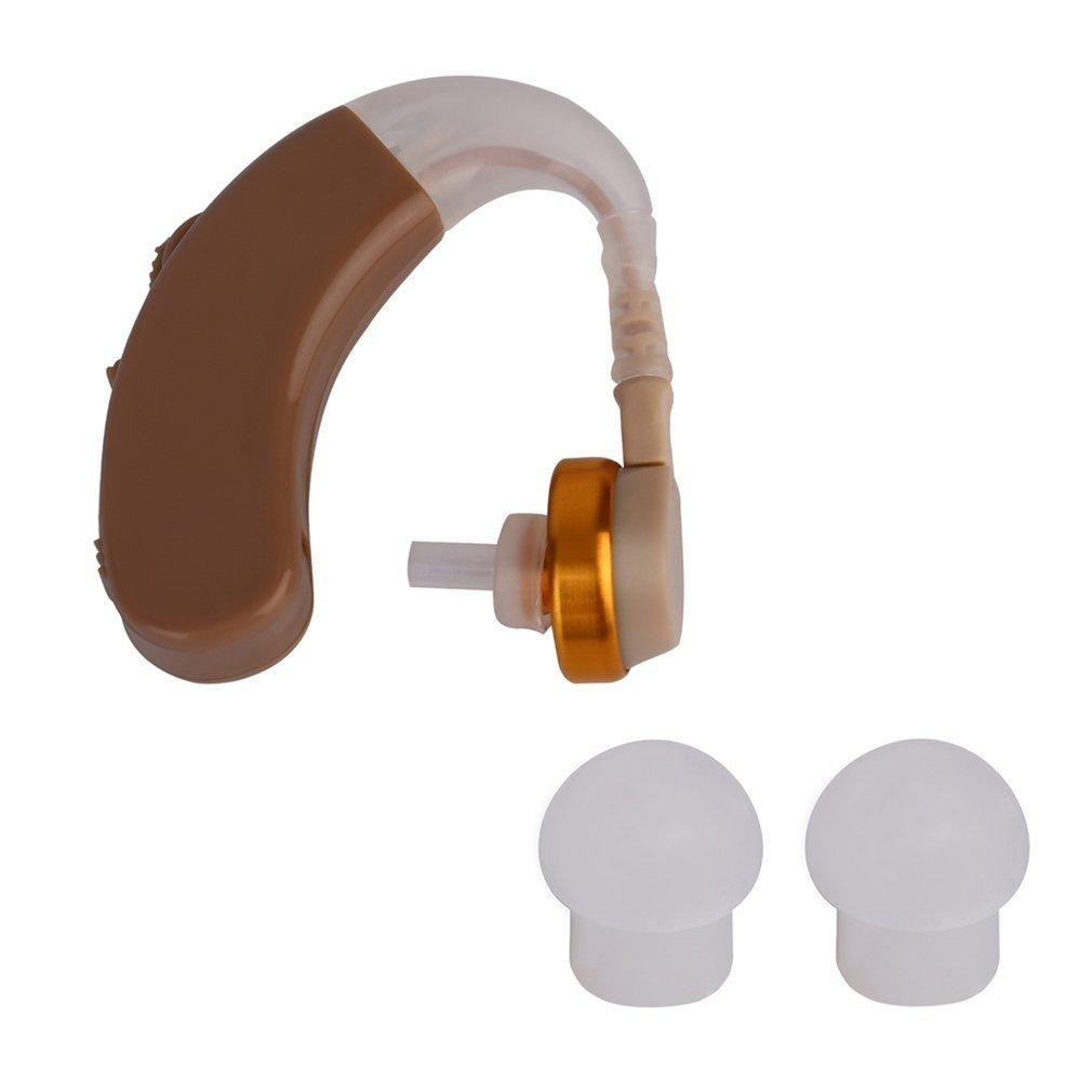GOFT New Tone Hearing Aids Aid Behind The Ear Sound Amplifier Sound Adjustable Kit