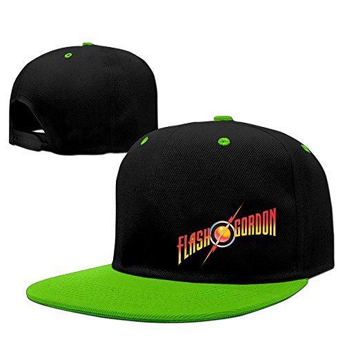 Flash Gordon Studio Album Queen Hip-Hop Fitted Hats Snapback Cap