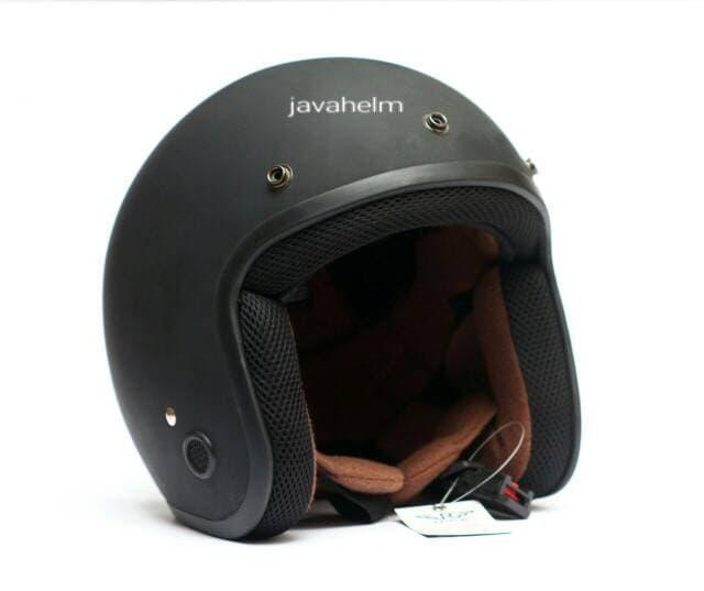 Helm Classic Caferacer Retro Vespa CB Harley Moge || helm kyt / helm bogo / helm full face / helm i