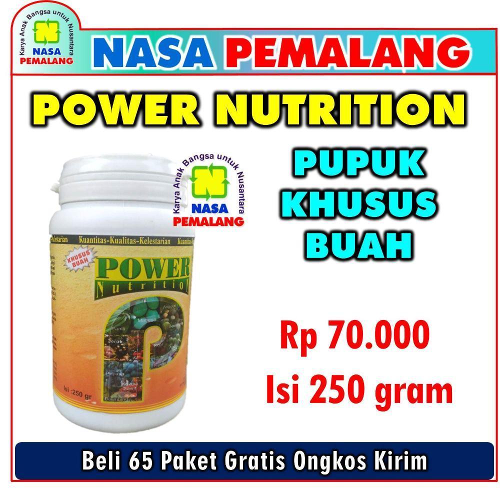 PAKET PUPUK BUDIDAYA DURIAN YANG SUDAH BERPRODUKSI ( POWER NUTRITION + SUPERNASA )