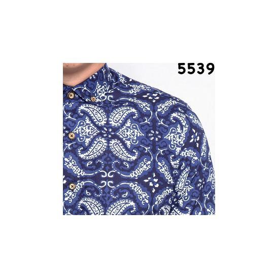 Kemeja Batik Floral - 553