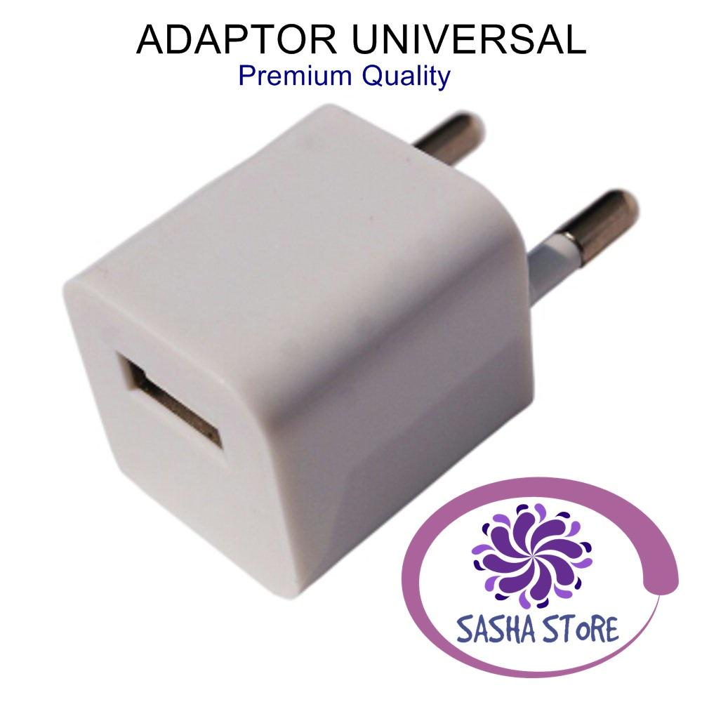 SS Adaptor Charger Universal / Kepala Charger Adapter / Batok Charger / Travel Adaptor for Iphone 5 6 7 Xiaomi Samsung Oppo Vivo Asus
