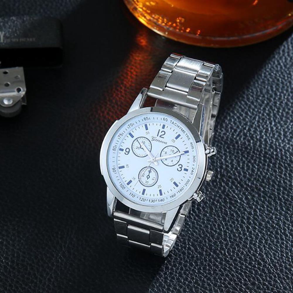 Jam tangan fashion Pria unisex Geneva chrono CC