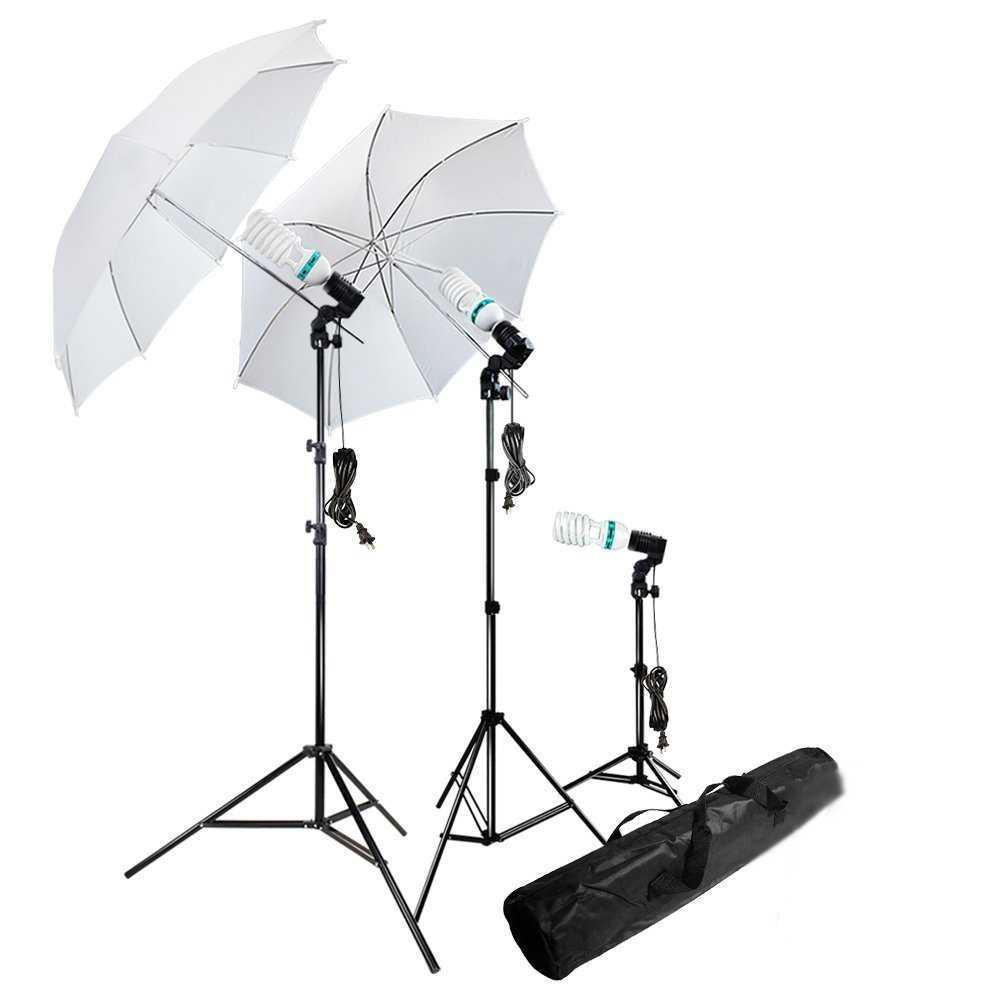 Portrait Foto Studio Lightning Kit Youtube Vlog