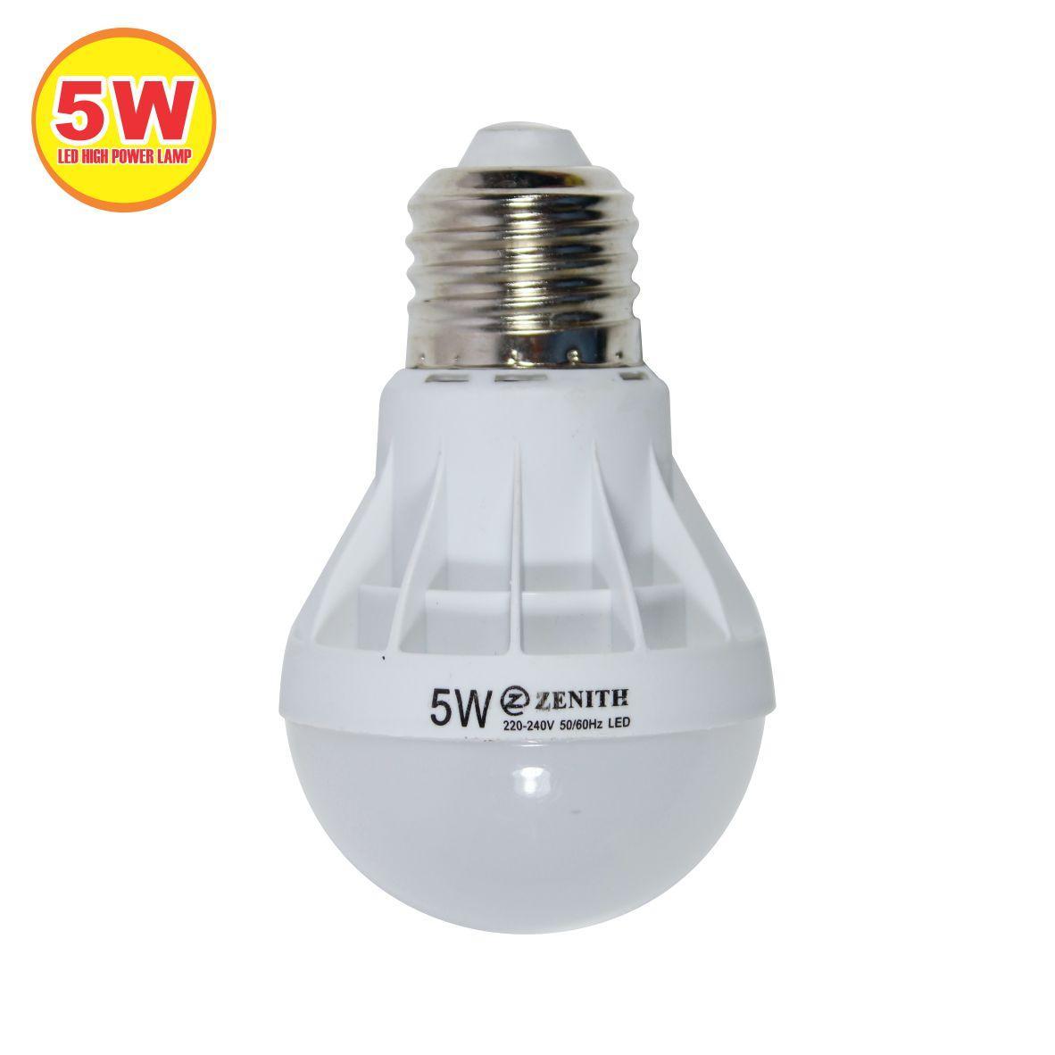 WEITECH LAMPU BOHLAM LED ZENITH HEMAT ENERGI DAN AWET 5 WATT