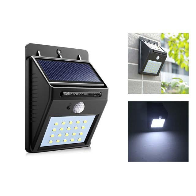 Lampu LED Light Sensor Gerak Dengan Tenaga Surya Matahari Solar Energy