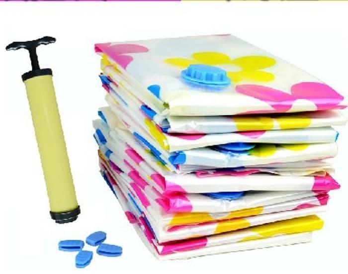 Anabelle Manual Hand Pump Vacuum Bag Pompa Tangan Udara Vakum Bags Mini