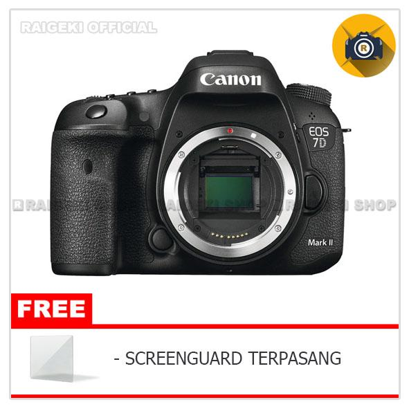 Canon Eos 7d Mark Ii Body Only Kamera Dslr - Original By Raigeki Shop.
