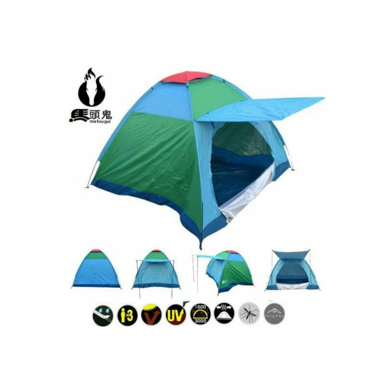 Tenda Camping Hiking Matougui 062 single layerIDR496000. Rp 496.000. Tenda Camping