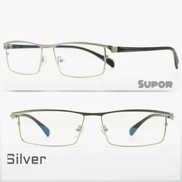 Frame kacamata FF22 Grey Full Frame Kaca mata Minus plus