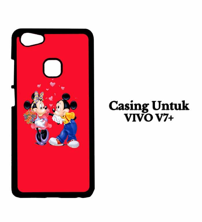 Casing VIVO V7 PLUS MICKEY MOUSE Hardcase Custom Case Se7enstores
