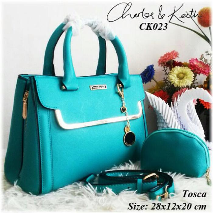 BEST SELLER!!! Tas CK set pounch / Charles Keith / Tas fashion import - CTJk2j