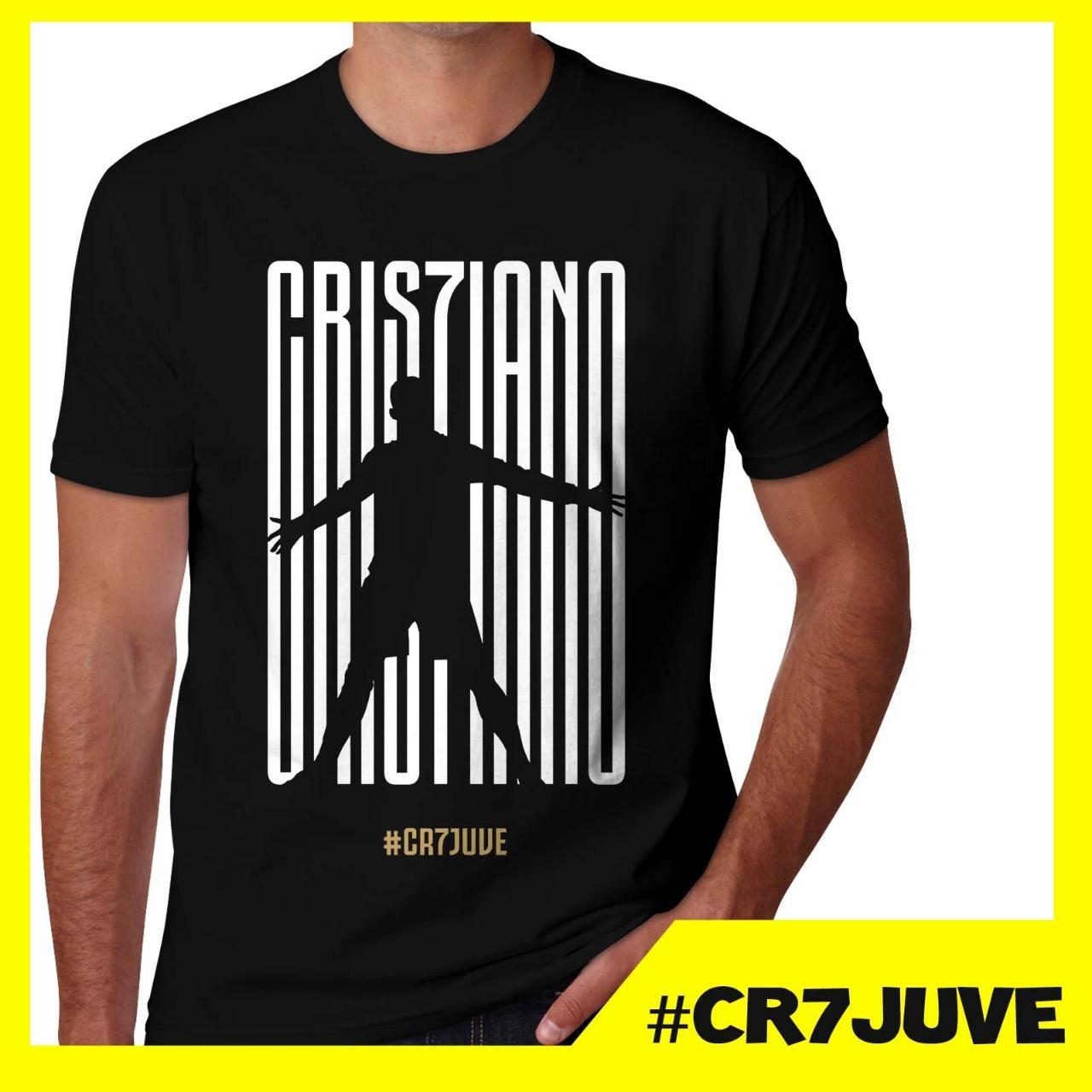 Kaos Ronaldo Juventus CR7JUVE CR7UVE Baju Distro Juve Bola Liga Italia - MDF STORE