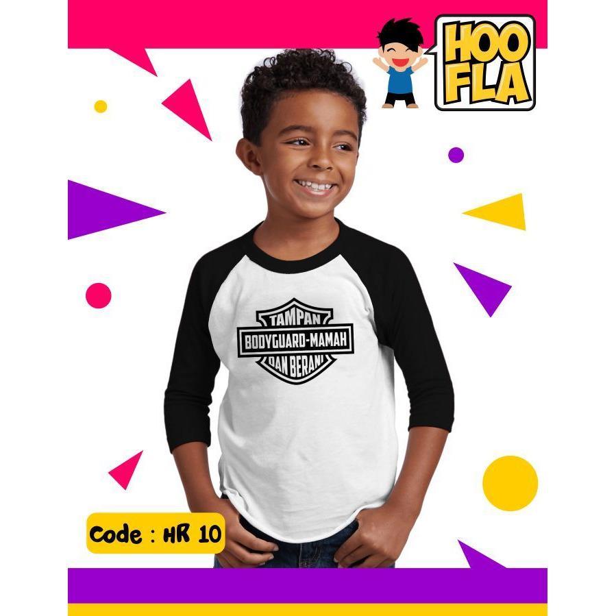 Bajuanaklucu Kaos Hoofla HR10 Bodyguard Mamah Branded Distro