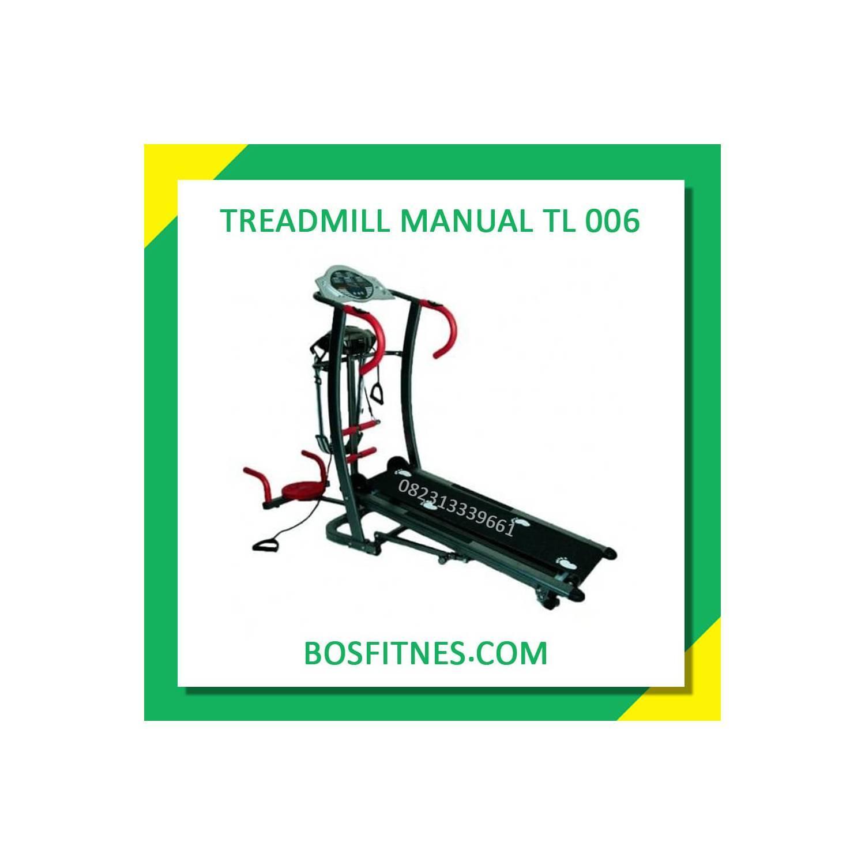 Treadmill 6 Fungsi Anti Gores Tl006 Tredmil Twister Alat Push Ob Fit Manual Ter W Belt Massager Bf 0086