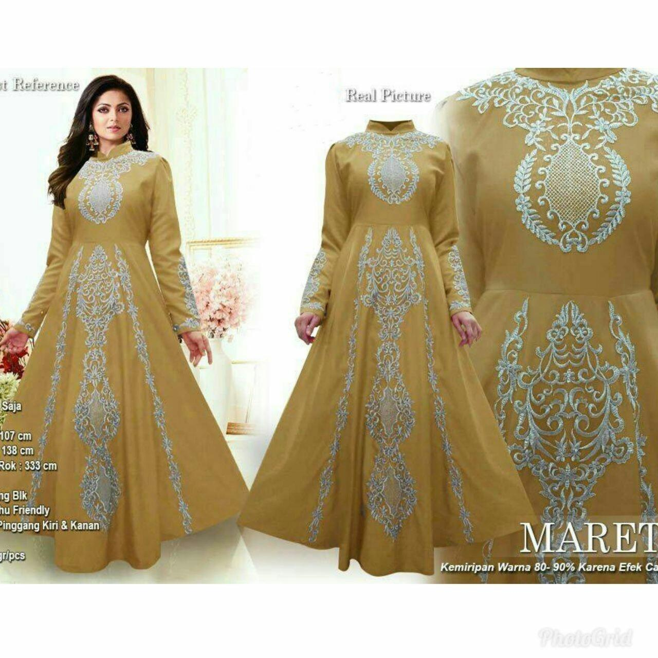 Victorioushop Maxi Mareta / Baju Muslim / Muslim Wanita