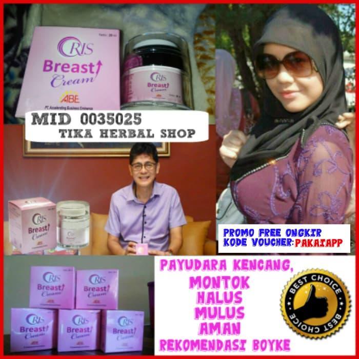 ORIS Breast Cream Pengencang Payudara Besar Padat Rskan beda dlm 7 day