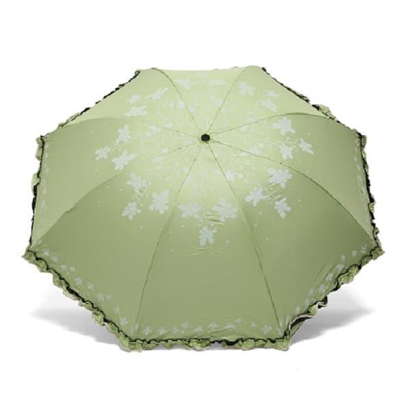 TERBARU Payung Lipat LOKO ASAGAO ( ada lapisan hitam anti UV) Jepang Korea NEW