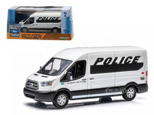 TERLARIS  GREENLIGHT 2015 FORD TRANSIT POLICE PRISONER