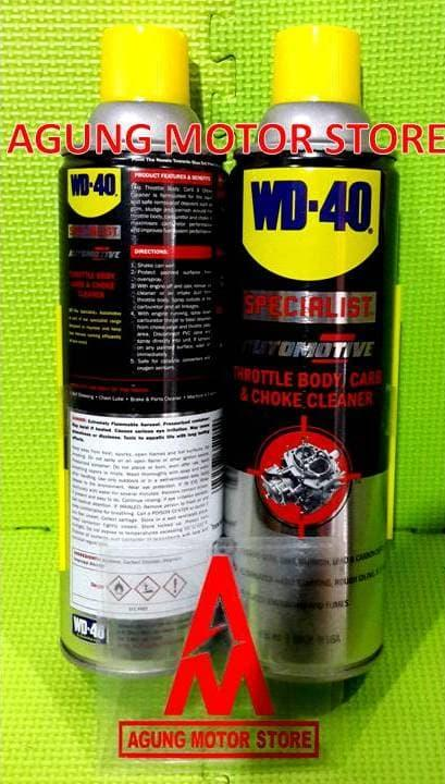 WD40 Specialist Automotive Carb & Choke Cleaner (450ml)
