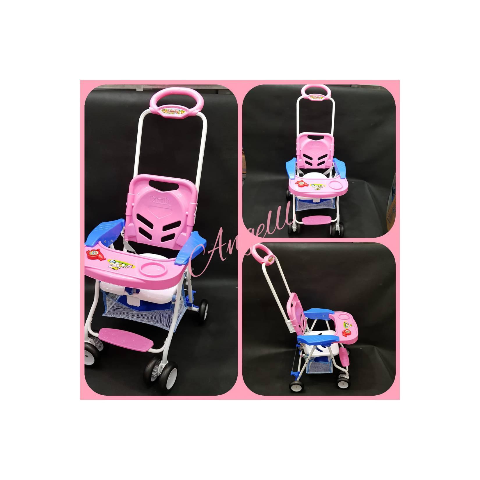 Jual Kursi Makan murah Bayi Chair Stroller Family fc 8288 ready