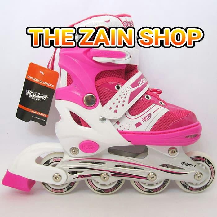 Sepatu roda anak perempuan Pink