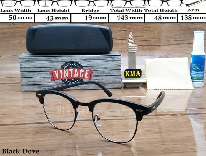 PALING LARIS Kacamata Frame korea VINTAGE kacamata minus frame club master kotak