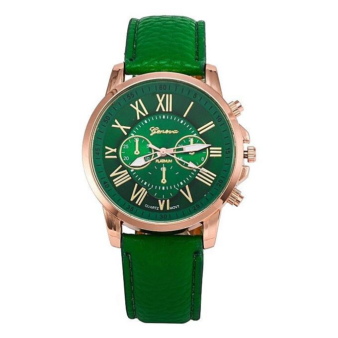 Geneva 263 Jam Tangan Wanita Analog Diamond Fashion Casual Lady Wrist Watch By Onixxes.