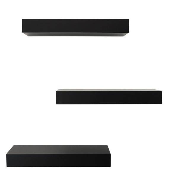 Set Rak Dinding Minimalis Paket Isi 3 Pcs Ukuran 30,30,30 cm - ambalan Gantung Melayang