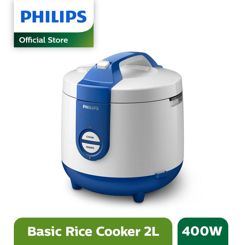 Philips Daily Collection Rice cooker HD3119/31 - 2L - Biru