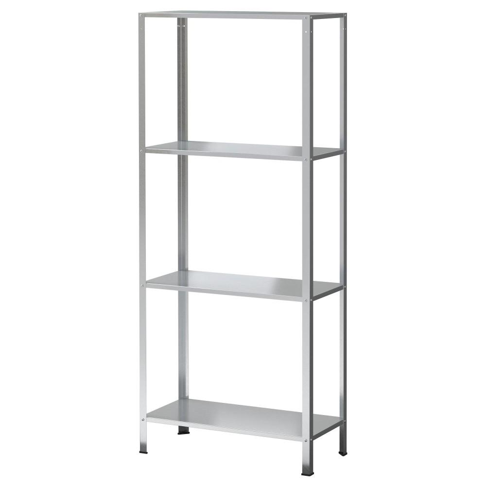 IKEA HYLLIS Rak Lemari Besi Baja