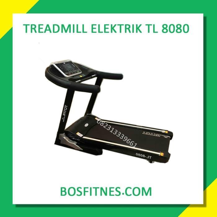 Harga Diskon!! Treadmill Elektrik 3 Hp New Tl-8080 Karawang - ready stock