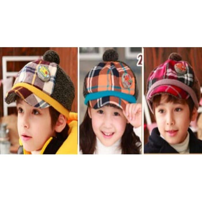 Golf Casual Hat Topi Golf Anak