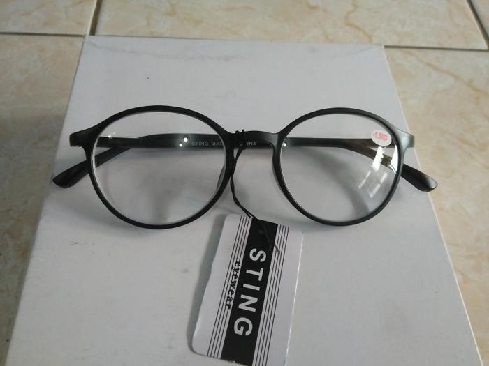 Home  Promo Kacamata Minus 100 Kacamata Baca Persegi Hitam Trendy Dan Gaya  Korea Ai624. d357b6c67d