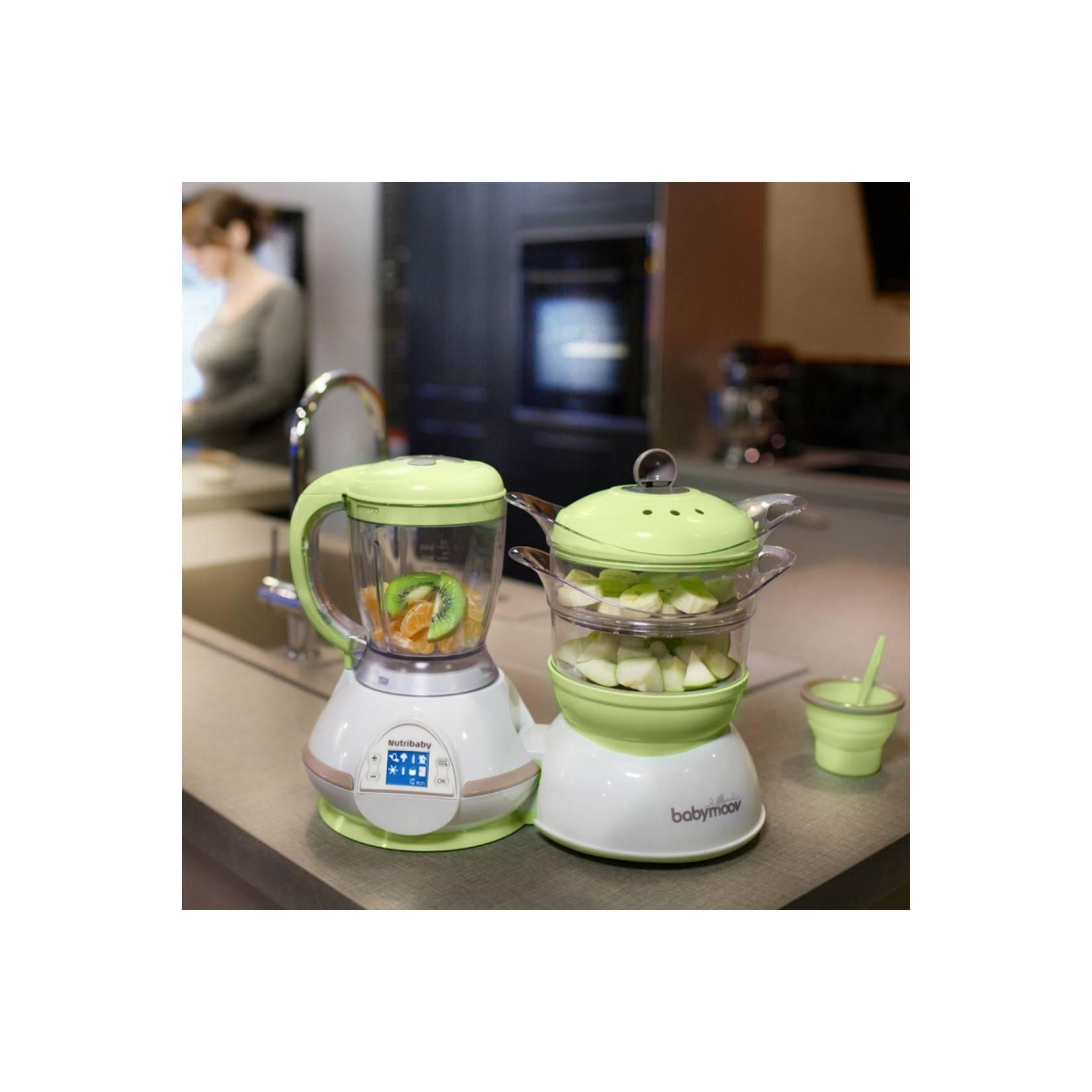 BabyMoov Nutribaby Steamer Blender Alat Pengolah Makanan Bayi Murah