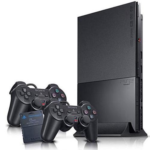 PS 2 SLIM MATRIX SONY + HDD 40GB + BONUS FULL GAME