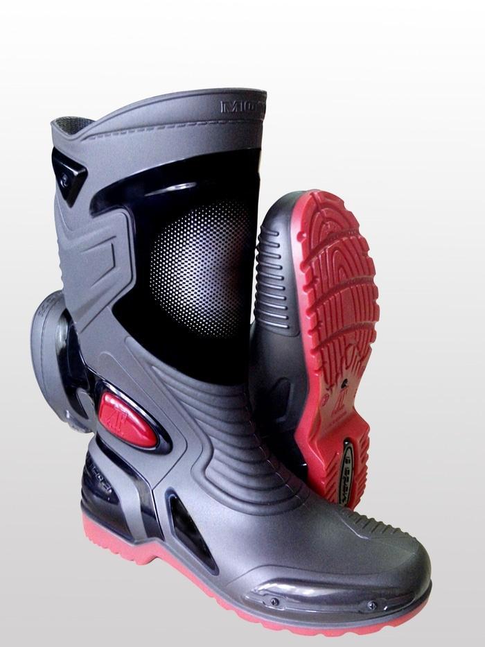 Sepatu Karet PVC Anti Tembus Air Banjir Hujan AP BOOTS MOTO 3 MOTO3 8a8fb80f08