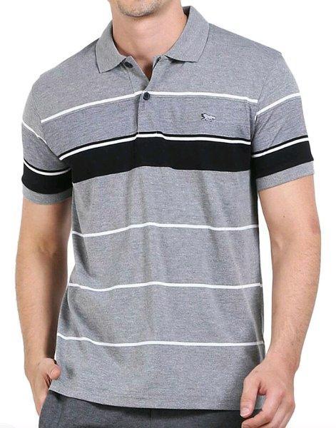 kaos stripe WALRUS polo shirt original brand.