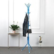 Gantungan Baju Standing Hanger / Multifunction Stand Hanger - Biru