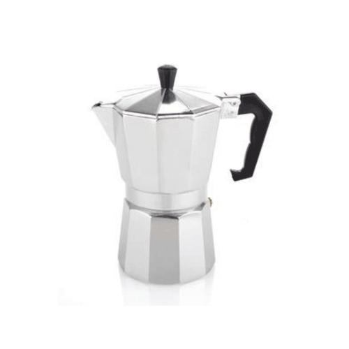 Coffee Gear Mokapot Coffee Espresso Maker Silver (2 cups)