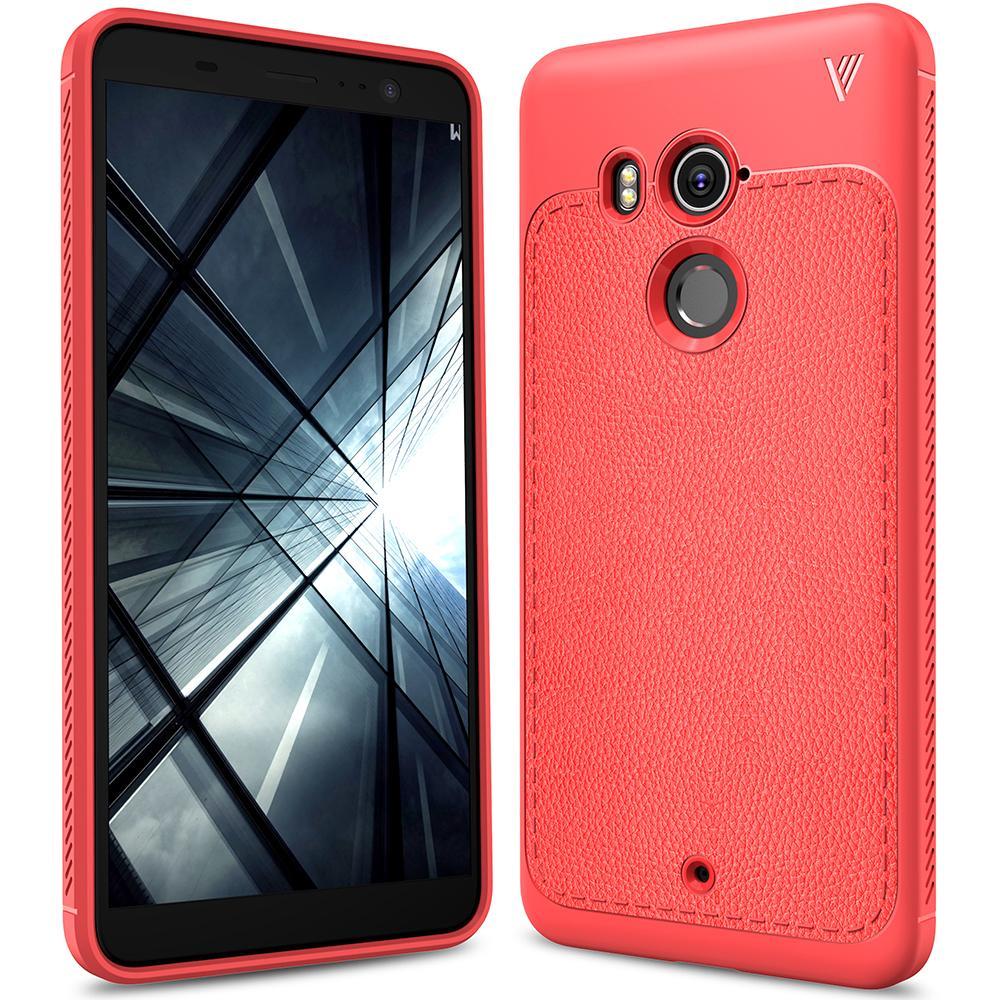 HTC U11 Plus Kasus, RUILEAN Ultra Slim Anti-Slip Resilient Soft Gel TPU Ultimate Protection Case Cover for HTC U11 Plus (As Shown)