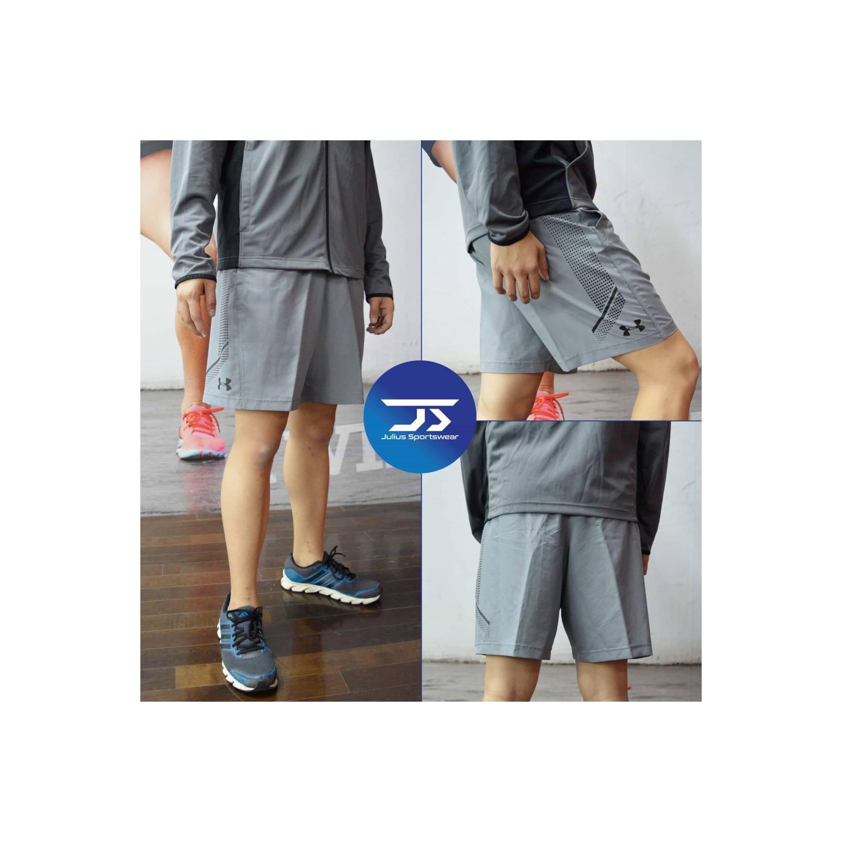Celana Gym Training Under Armour Woven Graphic Shorts GreyOriginal