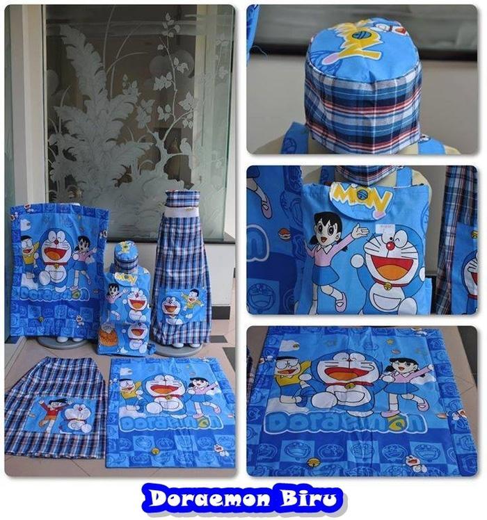 Sarung Doraemon XXL / sarung / sarung anak / sarun keren / sarun motif / sarung karakter pokemon / sarung karakter spiderman / sarung anak murah / sarung berkualitas / sarung karakter mobil / baju koko / doraemon